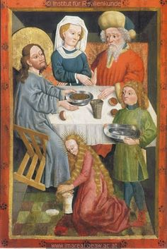 Christ in the House of Mary and Martha, 1456