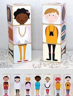 Haz juguetes creativos: descarga, imprime y crea! | Fiestas infantiles y cumpleaños de niños