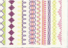 Vohvelikirjonta 1 Swedish Embroidery, Beaded Embroidery, Cross Stitch Embroidery, Diy Crafts For School, Easy Crafts For Kids, Swedish Weaving, Textile Fabrics, Sewing For Kids, Handicraft