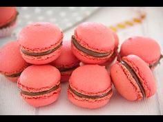 Mini Desserts, Low Carb Desserts, Macron Recipe, Meringue, All Purpose Flour Recipes, Raspberry Ganache, Valentines Day Desserts, Pastry Shop, Cake Videos