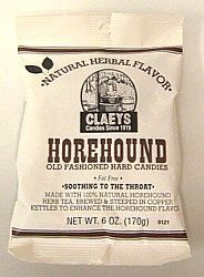 Claey's Horehound Old-Fashioned Hard Candy