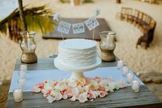 personalized topper - wedding cake