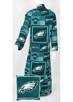 DONT REALLY WANT JUST FUNNY Philadelphia Eagles NFL Fleece Snuggie...Must have !!!!