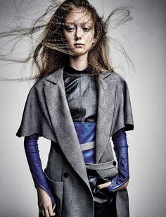 Tendência Modernista é a Palavra de Ordem na Moda e Fotografia na Vogue Itlia março 2017  Fragmentos de Moda