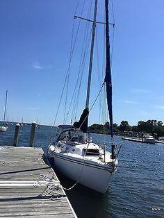 Sailboat Catalina 34