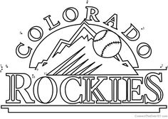 Colorado Rockies Logo Dot To Dot Download Picture Mermaid