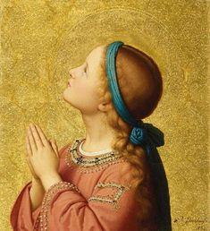 theraccolta:  The Virgin Mary - Franz Ittenbach