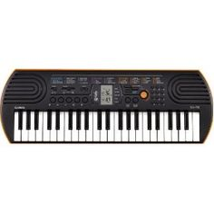 .Casio SA-76 44 Key Mini Keyboard, Orange by Casio  (49)Buy new: $69.95  $49.95 25 used & new from $46.57(Visit the Most Wished For in Keyboards list for authoritative information on this product's current rank.).