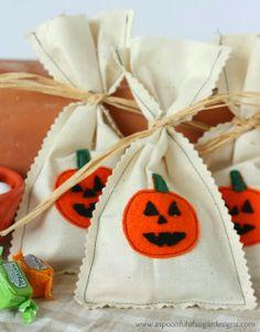 Sacolinha de halloween