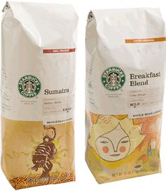 starbucks packaging - Buscar con Google
