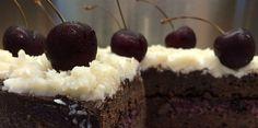 Enjoy vegan, gluten-free dessert with a rich cherry filling.