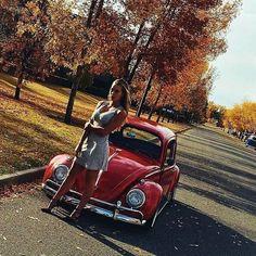 VWs and girls: Photo Kdf Wagen, Vespa, Hot Vw, Bus Girl, Volkswagen Group, Vans Girls, Vw Cars, Buggy, Vw Beetles