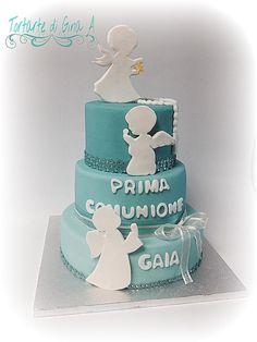 Prima Comunione - Cake by Gina Assini