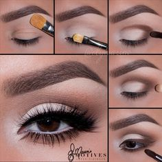 HOW TO GET MOST OUT OF THE MASKApplying mascara is one of the most basic makeup tricks in this book, but I always enjoy trying new ways to figure out how to get the best and most effective look.trendy bronzed eyes make-up EyeMakeupOrange in 2019 Eye Makeup Steps, Smokey Eye Makeup, Eyeshadow Makeup, Makeup Tips, Makeup Tutorials, Eyeshadow For Hooded Eyes, Easy Eyeshadow, Basic Makeup, Neutral Eye Makeup