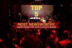 2014 LA Auto Show -- Top 5 Most Newsworthy Cars