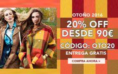 Cupón descuento del 20% en moda en Milanoo