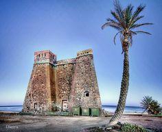 Place: Castillo de Macenas, Mojacar Almería / Andalucía, Spain Photo by: Domingo Leiva (flickr)
