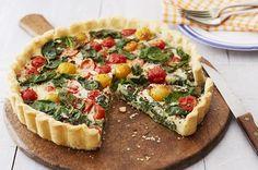 Rezept für Vegane Spinat Quiche. Jetzt nachkochen/ nachbacken oder von weiteren köstlichen Rezepten von und mit Flora inspirieren lassen!)