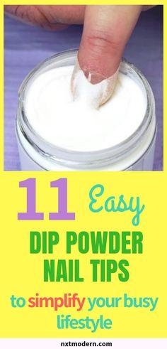 11 Fabulous Dip Powder Nail Tips to Simplify Your Routine 11 Dip Powder Nail Tips to Simplify Your Routine Dip Manicure, Powder Manicure, Dipping Powder Nails, Mani Pedi, Routine, French Nails, Nails Factory, Revel Nail Dip Powder, Nagel Hacks