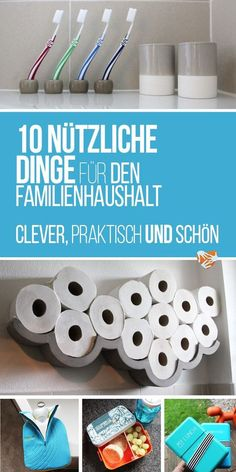 Praktische Dinge für den Haushalt mit Kind - das nicht das Auge beleidigt? Geht das? 10 wirklich nützliche Dinge für den Familienhaushalt -Must-haves für Eltern.