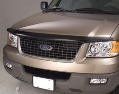 Hood Stone Guard-Aeroskin Chrome Auto Ventshade fits 07-17 Ford Expedition