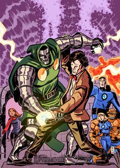 Doctor Who vs Doctor Doom