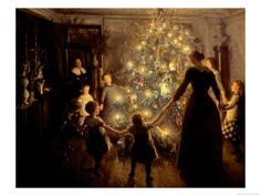Silent Night, 1891 Viggo Johansen