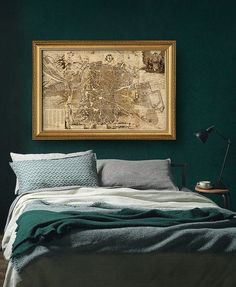 Madrid Vintage Map 1656 Panoramic Map Map of by CooltPrintsCo