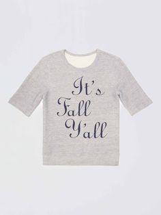 it's fall y'all sweatshirt | Draper James