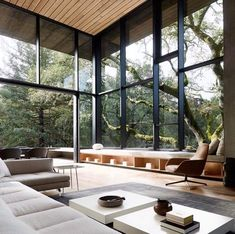 Miner Road House in Orinda California by Faulkner Architects. Photography by Joe Fletcher.