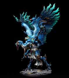 Warhammer Age of Sigmar | Disciples of Tzeentch | lord of Change #warhammer #ageofsigmar #aos #sigmar #wh #whfb #gw #gamesworkshop #wellofeternity #miniatures #wargaming #hobby #fantasy