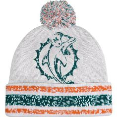 NFL Miami Dolphins Youth Girls Cuffed Pom Logo Knit Beanie - White by Football Fanatics. $17.95. One size fits most. Multi-colored pom. Woven team graphics. Imported. Rib-knit beanie. Miami Dolphins Youth Girls Cuffed Pom Logo Knit Beanie - WhiteMulti-colored pom100% AcrylicOfficially licensed NFL productRib-knit beanieImportedOne size fits mostWoven team graphics100% AcrylicRib-knit beanieWoven team graphicsOne size fits mostMulti-colored pomImportedOfficially licensed NFL...
