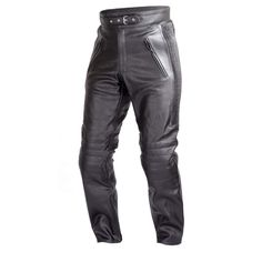 a5aa312fea Xelement B7400 Classic Mens Fitted Leather Pants - 42