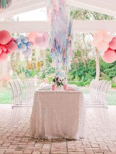 Kara's Party Ideas Elegant Frozen Birthday Party | Kara's Party Ideas