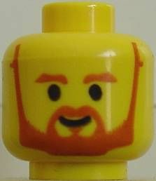 LEGO Minifig Head Body Part with Blue Headband
