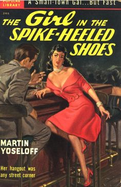 The Girl In The Spike-Heeled Shoes (hey, I live right next to a street corner!)
