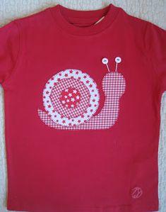 Camisetas personalizadas - Caracol