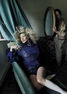 Kate Moss by Tim Walker, Vogue Italia, September 2015.