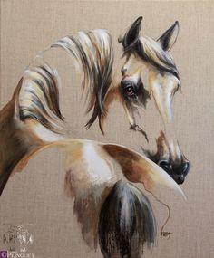 Laetitia PLINGUET Artist Oil on natural canvas. Copyright L. Plinguet Victorious, Oil