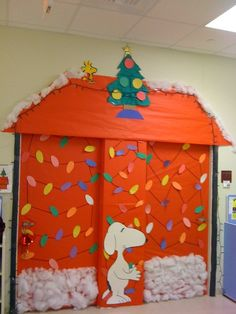 This door consist of 2 classroom doors designed to look like one scene. It was a wonderful project! (Ms. Hutson and Ms. Hartfield's Class Gulfport, Ms.)