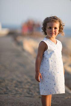 Vestido reversible, bonito cómodo y práctico! #vestidos #niñas #dresses #dress #girlsdresses #niñas #ropadeniñas #handmade