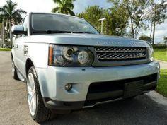 Siberian Silver Range Rover Sport #landroverpalmbeach #landrover