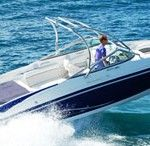 Our most popular Ibiza boat for groups of up to 9 guests wanting to experience an unforgettable day in Ibiza. This spacious 26ft Rinker Bowrider / speed boat offers power and comfort with room for 9 guests.