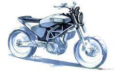 Husqvarna 401 VITPILEN Concept Bike