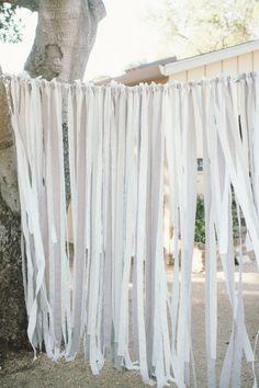 DIY ribbon backdrop Photography by Paper Antler / http://paperantler.com