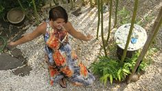 . . . my green haven im juli: jana im maxikleid