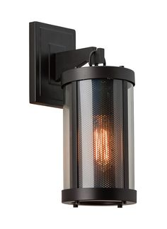 OL12000ORB,1 - Light Bluffton Outdoor Wall Sconce,Oil Rubbed 15h 6w Bronze F52107