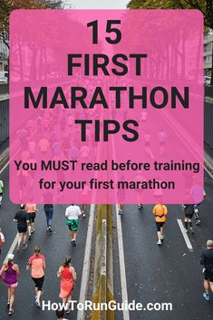 Running your first marathon? Read these important first marathon tips first. Find out what to do (and what not to do) when training for your first marathon. Marathon Tips, First Marathon, Half Marathon Training, Marathon Running, Marathon Plan, Running Workouts, Running Tips, Easy Workouts, Workout Tips