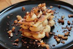 lasagnes croustillantes poire chocolat mascarpone amande