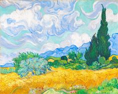 Van Gogh and the Seasons | NGV, Melbourne, Australia. I'm so looking forward to going to see this exhibition. I've seen quite a few of his beautiful, amazing paintings in Europe and the chance to see even more is too good to miss.